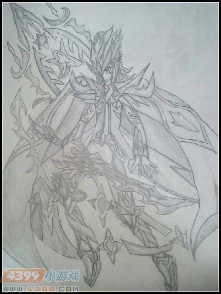 卡布手绘—天狱罪龙兽