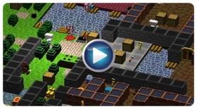 像素风《方块任务》:地牢逃脱一路血雨