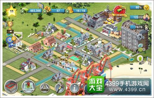 岛屿城市4模拟人生大亨画面