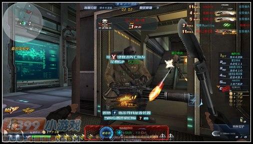 4399生死狙击挑战模式泰坦实验室