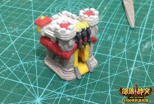 部落冲突玩家自制全景建筑模型