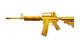 枪战英雄黄金M4A1怎么样 步枪黄金M4A1详解
