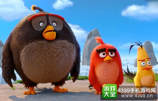 相关资讯: 《愤怒的小鸟》曝新预告:五只雏鸟献唱圣诞歌 萌翻了