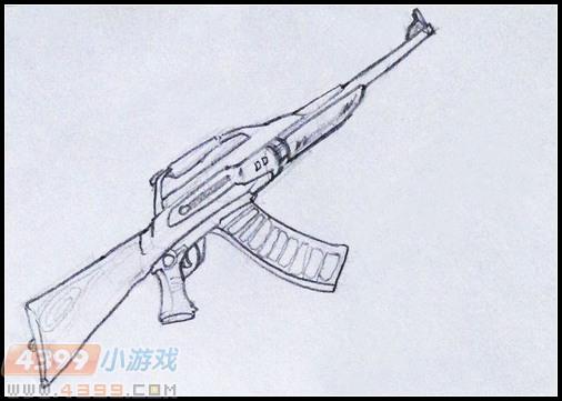 生死狙击玩家手绘—自创武器