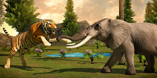 森林之王不容撼动 模拟手游《狂野猛虎大冒险》燃烧狩猎的本能