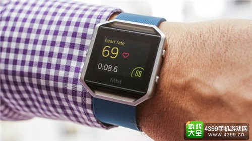 Fitbit Blaze智能手表亮相CES2016 为运动而生