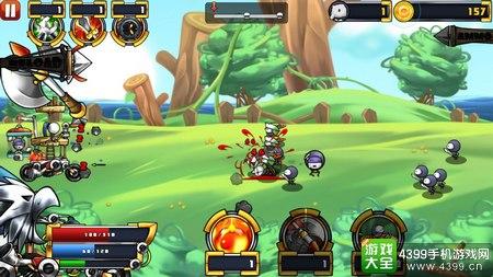 卡通防御战5玩法