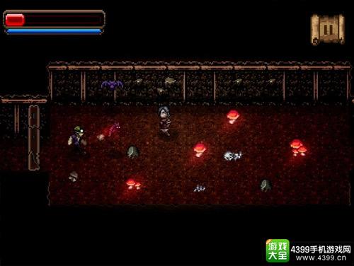 游戏采用怀旧的像素风格