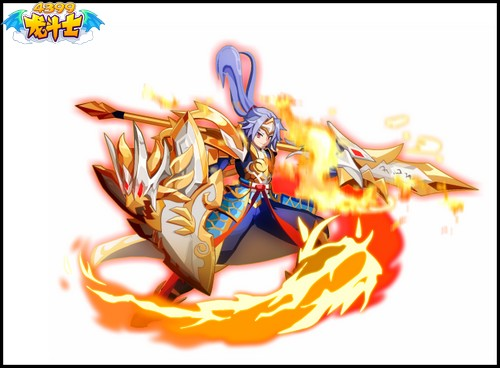 龙斗士龙骑士双形态超帅气大图