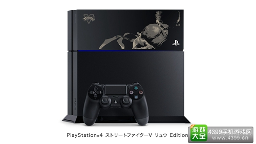 《街霸5》将在日本推出限定PS4 共有四种款式