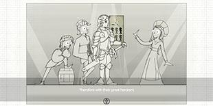 谋划盘上之敌的对局 策略手游《极简骑士》守护我的王国