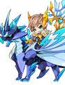 洛克王国4399骑士魔法套装