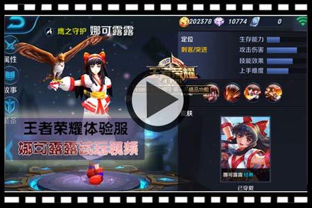 王者荣耀娜可露露视频