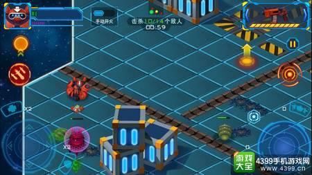 x战线战斗画面