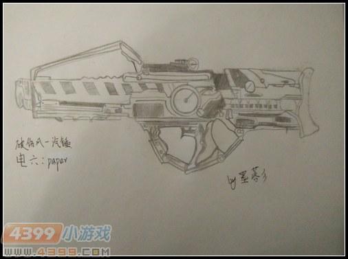 生死狙击玩家手绘—破伤风气锤