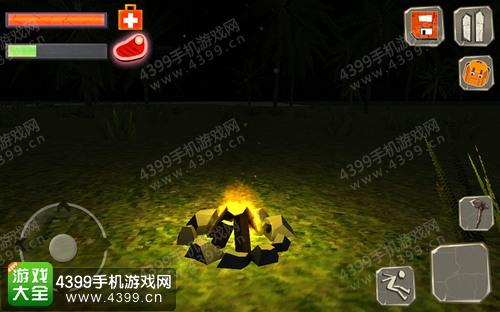 荒岛求生怎么制作篝火