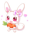 奥比岛馋嘴小兔兔