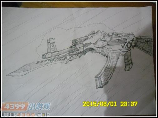 生死狙击玩家手绘-荣耀来袭
