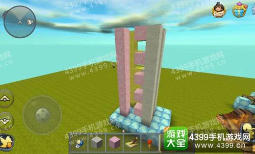 迷你世界电梯搭建