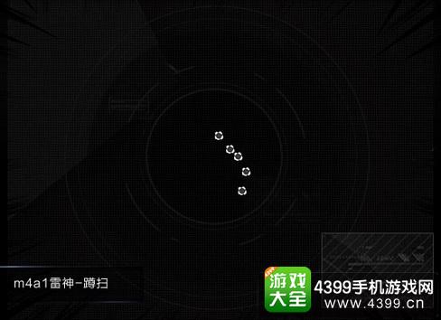 穿越火线枪战王者M4A1雷神弹道测试
