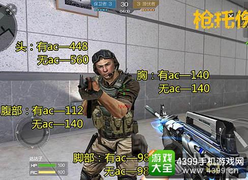 穿越火线枪战王者M4A1雷神伤害测试
