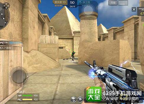 穿越火线枪战王者M4A1雷神实战技巧