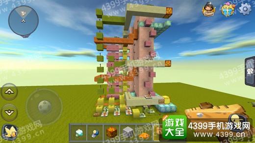 迷你世界玩家分享可选电梯