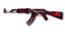 火线精英手机版AK47-黑玫瑰怎么得 AK47-黑玫瑰属性详解