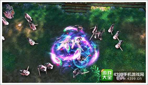 青丘狐传说战斗画面