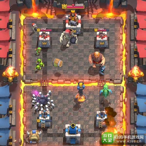 潜力游戏-《部落冲突:皇室