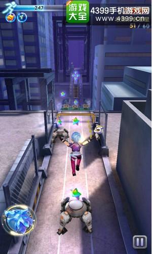 天天酷跑3D剧情模式第4关三星通关攻略