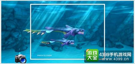 饥饿的鲨鱼灭世魔龙宝宝