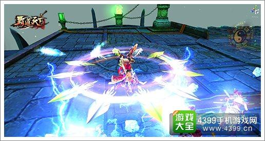 剑灵觉醒战斗画面