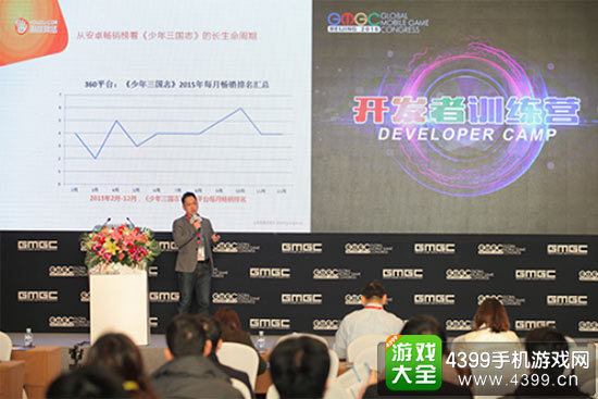 游族网络公司的副总裁程良奇
