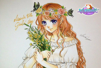 奇迹暖暖手绘教程之西尔维娅夫人 美美的玩家手绘套装