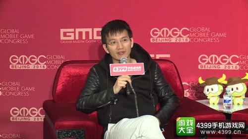恺英游戏事业群CEO陈永聪先生接受采访