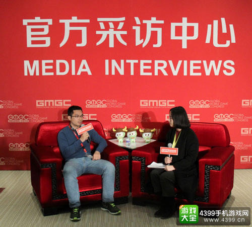 腾讯游戏云总经理黄世飞接受采访