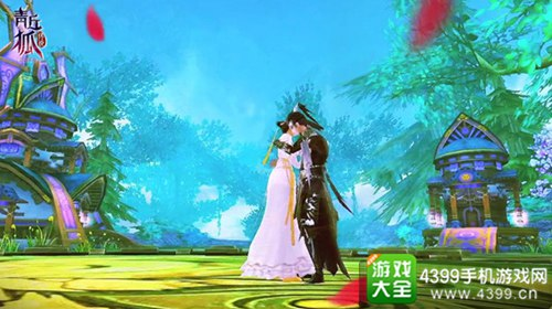 青丘狐传说手游结婚