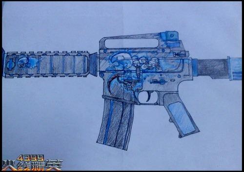 火线精英手绘未来武器