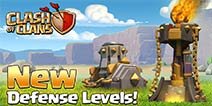 部落冲突更新预告1:新地狱之塔与迫击炮等级