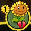 植物大战僵尸英雄向日葵