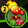 植物大战僵尸英雄火焰豌豆