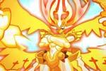 龙斗士皇龙神超进化高清大图展示