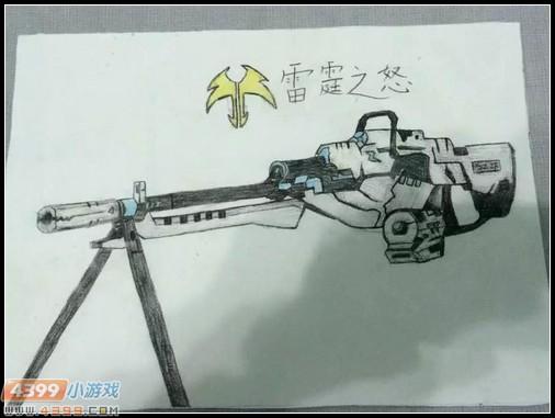 生死狙击玩家手绘-q版爱丽丝_第2页_乐乐简笔画