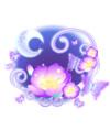 奥比岛魅之月见花