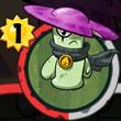 植物大战僵尸英雄放置毒菇