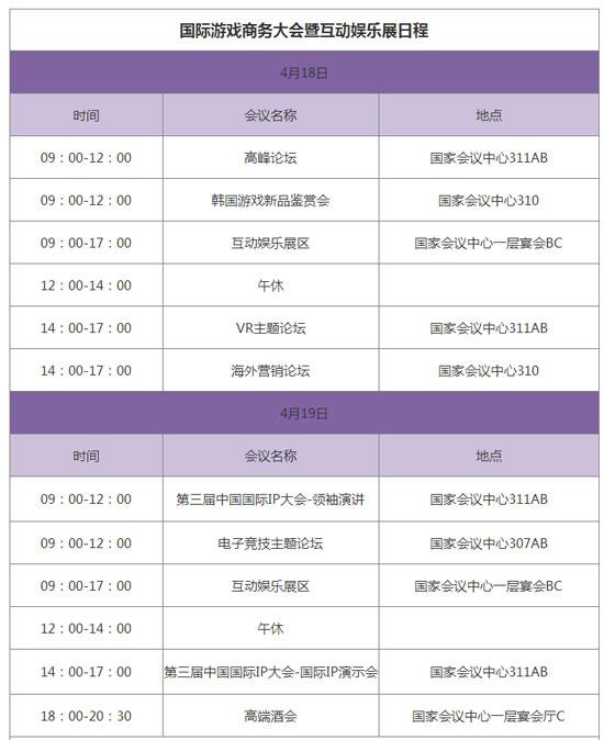 2016IGBC会议议程