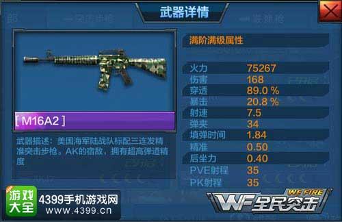 M16A2属性