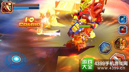 斗龙战士3龙印之战大招