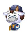 奥比岛慈祥山羊牧师